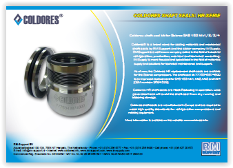 Coldores Sabroe SAB163 shaft seal